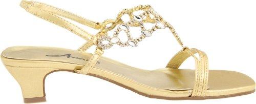 Annie Womens Allison Evening Dress Sandal Gold 2oFxRSf
