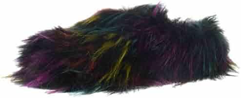 Steve Madden Women's Fuzzy Slipper