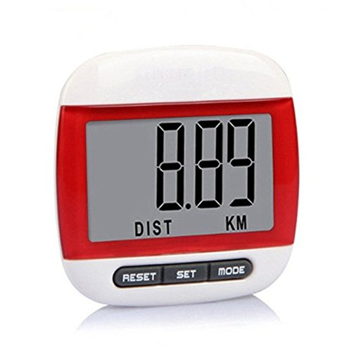 Amazing Kiss Mini LCD Walk / Run Pedometer Kilometer / Mile Distance Calorie Counter Running Sports Multi-function Lcd Digital Electronic Pedometer Jog Walk Run Calories Consumed Monitor Meter (Mini Pedometer)