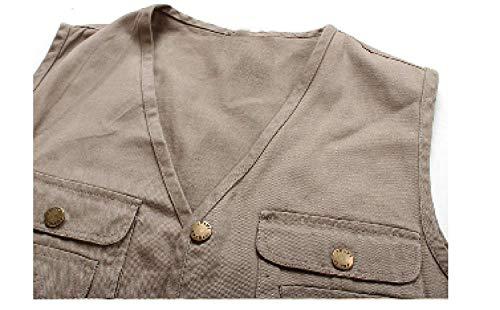 Modèles Section En Cheval Mens Hommes Gilet Pêche Coton Multi Photographie Moderne Automne Casua Haidean Beige Pocket Des OvnwRUPxUq