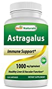 Astragalus contains naturally occurring flavonoids and polysaccharides. As a traditional Chinese herb, Astragalus is known for its goodness.