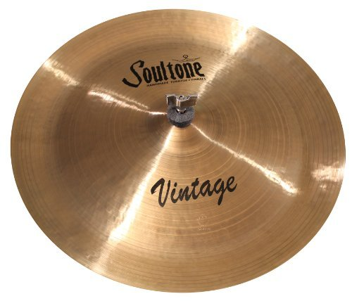 Cymbals Vintage B06XXFBDCD  China [並行輸入品] VNT-CHN17-17 Soultone