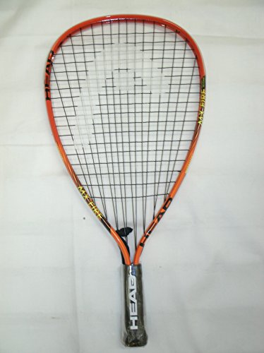 HEAD MX Fire Racquetball Racquet, Black/Orange, One Size by HEAD