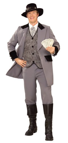 Gambler Costume (Mississippi Gambler Costume - Medium - Chest Size 40-42)