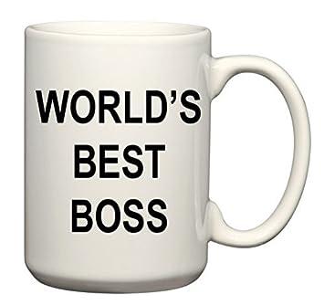 Amazon Com Mcasting The Original Worlds Best Boss Mug The Office