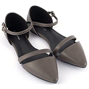 Mio Marino Ballet Flats Shoes for Women – Pointed Toe Flats Dress Shoes for Women