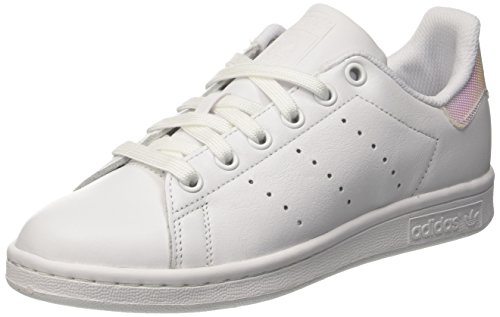 adidas Stan Smith W, Zapatillas Para Mujer Blanco (Ftwbla / Ftwbla / Ftwbla)