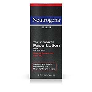Neutrogena Triple Protect Face Lotion for Men