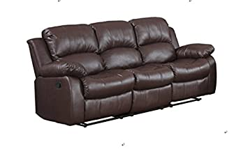 Man Cave Recliner Chairs : Amazon classic and traditional brown bonded leather recliner