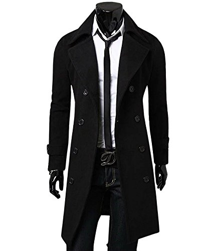 Long Mens Overcoat - 5