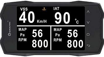 Auto OBD Digital metros and indicador de temperatura de agua digital and Voltaje Velocidad Cuchillo Voltaje
