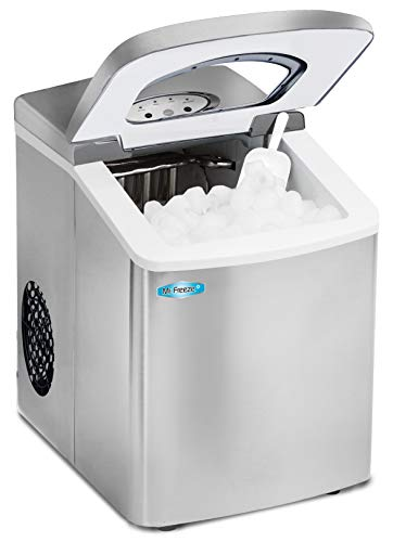 Mr. Freeze MIM-18SI Maxi-Matic Portable Automatic Ice Maker...