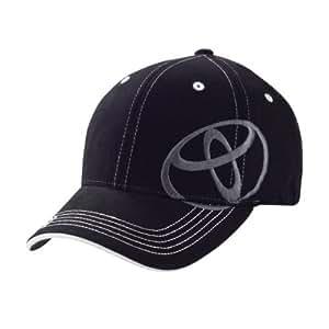 Toyota Side Logo Black Flex-fit Baseball Cap