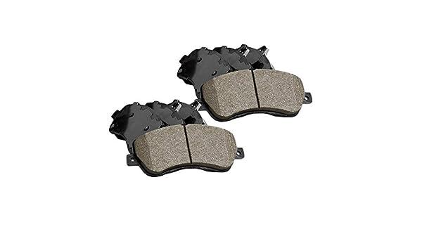 Rear Posi-Quiet Ceramic Brake Pads 2Set For 2016 Mazda 6 Front