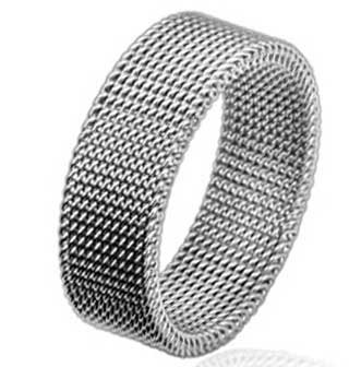 4a0c443f1 Image Unavailable. Image not available for. Color: 316l 8mm Stainless Steel  Flexible Mesh Screen Ring (11)