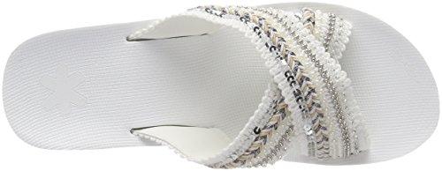 Bianco Cross Donna 1000 Plateau Sandalo Ibiza Flop bianco Flip wxq7xtY41