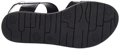 Bugatti J81886n - Sandalias de tobillo Mujer Negro - negro