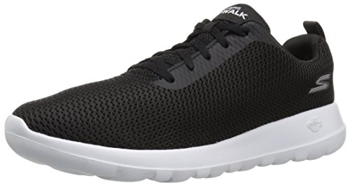 Go Skechers Negro para Hombre Zapatillas Walk Effort MAX Black White OTwrTdq