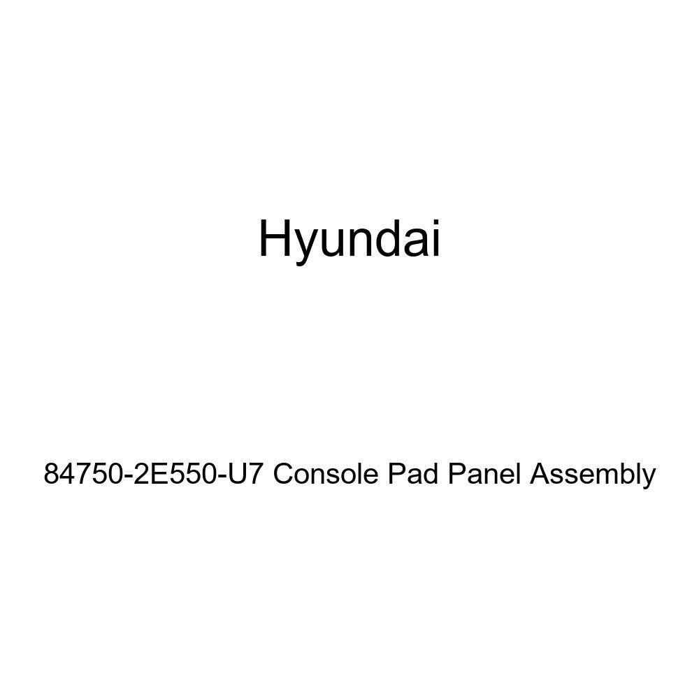 Genuine Hyundai 84750-2E550-U7 Console Pad Panel Assembly