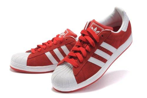 adidas superstar red uk
