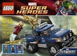 Game / Play LEGO Loki's Cosmic Cube Escape 6867, Includes 3 minifigures: Iron Man, Loki and Hawkeye Toy / Child / Kid - Lokis Cosmic Cube