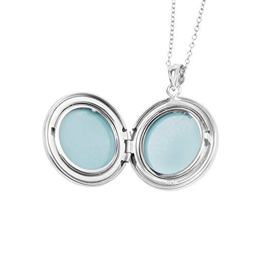 Buy sterling silver picture frame necklace