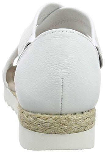 Gabor Shoes 62.711, Sandalias Mujer Blanco (weiss Jute)