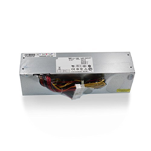 Mackertop 240W Desktop Power Supply Unit PSU Replacement for DELL OptiPlex 390 790 960 990 7010 9010 Small Form Factor SFF Systems H240AS-00 AC240AS-00 L240AS-00 AC240ES-00 H240ES-00 Series by Mackertop