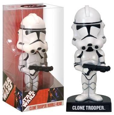(Funko Clone Trooper Bobble-Head)