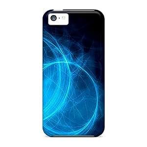 For Iphone 5c Fashion Design Azul En La Oscuridad Case-MpTfbGy1012dCVRh