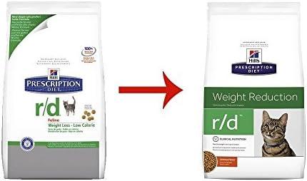 Hills Diet r d Weight Loss-Low Calorie Cat Food 4lb Bag