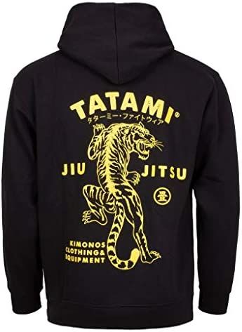 パーカー トレーナー プルオーバー フィットネス ランニング 鍛え メンズ Tatami Fightwear Tiger Style Hoodie Men's Fitness Workout Running