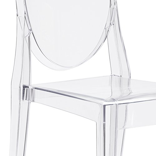 Poly and Bark Burton Side Chair in Clear (Set of 4) by POLY & BARK (Image #7)