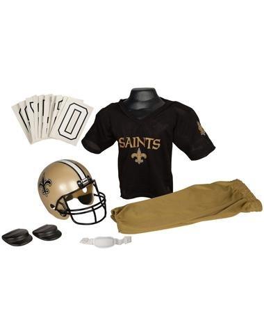 Franklin Sports Inc. Boys Nfl New Orleans Saints Uniform Set
