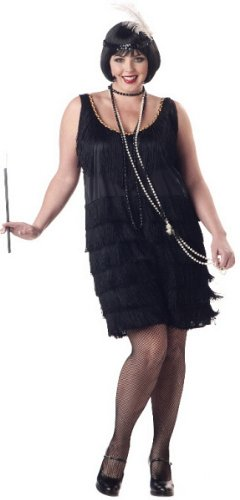 Fashion Flaper Plus Size Costume