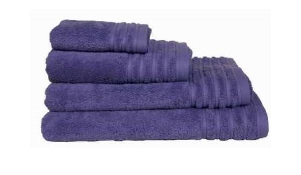 Toalla de ducha Cloe 500 gr/m2. 70x140 cm, púrpura OFERTA: Amazon.es: Hogar