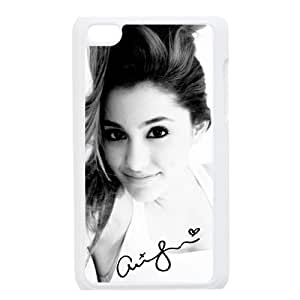 Customize American Famous Singer Ariana Grande Back Case for ipod Touch 4 JNIPOD4-1441