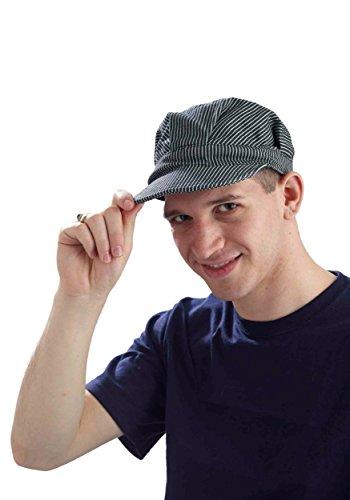 Forum Novelties 65493 Deluxe Engineer Hat-Adult, Multi-Color, Standard, As -