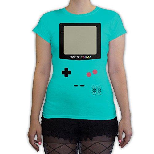 Tetris Costume Halloween (Function - Game Console Halloween Costume Women's Fashion T-Shirt Teal)
