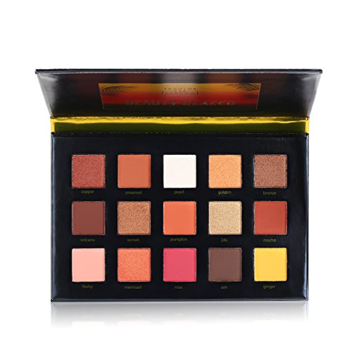 Beauty Glazed 15 Colors Sunset Dust Shimmer Matte Glitter Wa