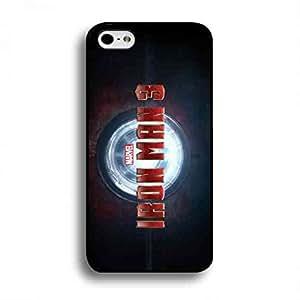 Iron Man 3 iPhone 6 Plus/iPhone 6S Plus(5.5inch), Iron Man 3 Phone Funda, Iron Man 3 Hard Plastic Black Cover