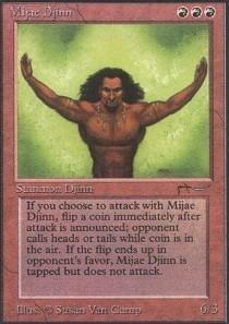 Magic: the Gathering - Mijae Djinn - Arabian Nights
