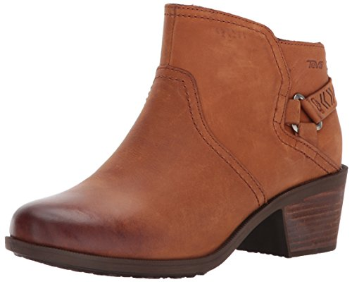 - Teva Women's W Foxy Waterproof Boot, Caramel, 7 M US