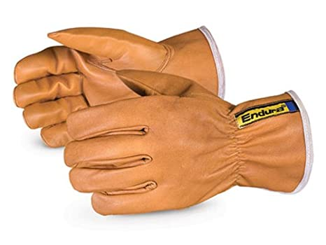 bbc8e5a23f48 Superior 378GOBKL Endura WaterStop Oilbloc Goat Grain Leather Drivers Glove  with Kevlar Lined