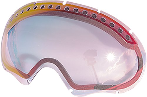 ZERO Replacement Lenses For Oakley A Frame Snow Goggle Ruby - Clear Oakley Frame Lens A