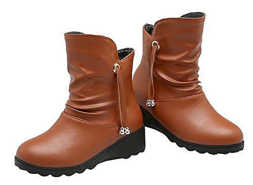 D'Orteil AgeeMi Femme Shoes Tire Fermeture vvaUq6