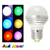 ElectroExperts RGB LED Light Bulb with Remote Controller
