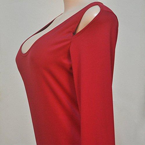 Etui X Trendy C Damen Rot Kleid 38 schwarz schwarz HOwUTxnqw