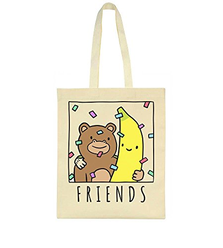 A Best And Bag Friends Tote Banana Monkey Are 5w6qxa