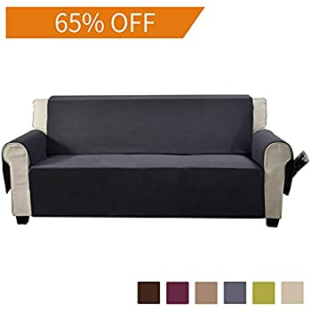 Amazoncom Aidear AntiSlip Sofa Slipcovers Jacquard Fabric Pet